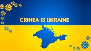 RUSSIAN INVASION CAN MASK BUT NEVER DESTROY: CRIMEA IS UKRAINE
