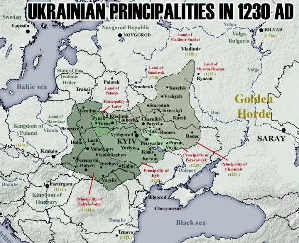 A HISTORY OF UKRAINE. EPISODE 28. FIGHTING THE MONGOLS
