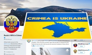 TWITTER GIVES SEAL OF APPROVAL TO RUSSIA'S INVASION AND PARTIAL OCCUPATION OF UKRAINE