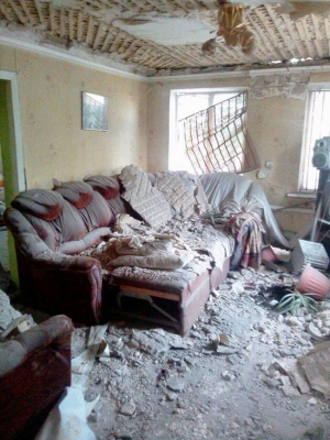 RUSSIA BOMBARDS RESIDENCES IN TROITSKE, UKRAINE — FAMILY OF FOUR DECIMATED