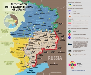 RUSSIAN FORCES INVADING EUROPE IN UKRAINE BREAK EASTER CEASEFIRE