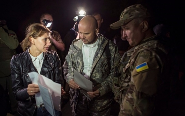 INVADER RUSSIA MAY RELEASE SOME UKRAINIAN HOSTAGES