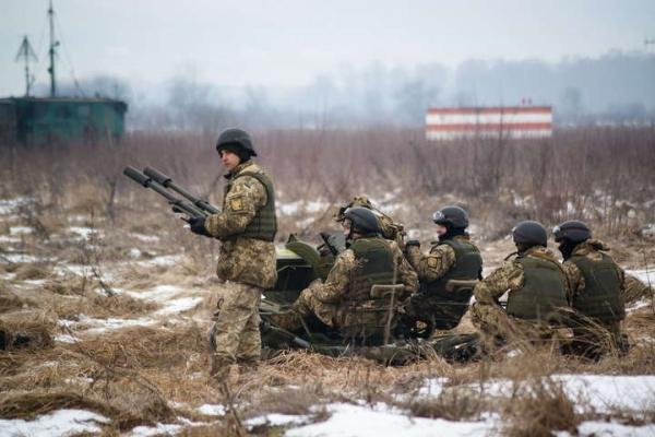 RUSSIA'S INVASION OF EUROPE: ESCALATION OF ATTACKS IN DONBAS