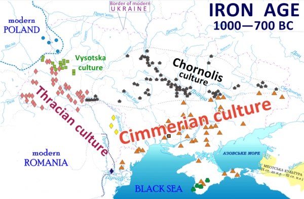 A HISTORY OF UKRAINE. EPISODE 6. IRON AGE: THE CIMMERIANS